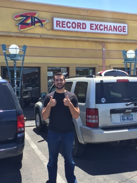 Kagan at Zia Records in Las Vegas