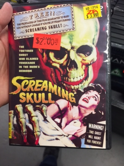 Kagan at Zia Records - Screaming Skull