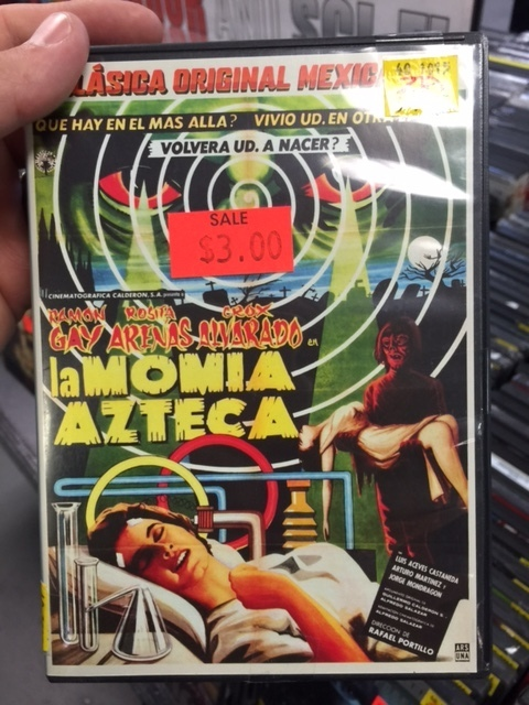 Kagan at Zia Records - The Aztec Mummy