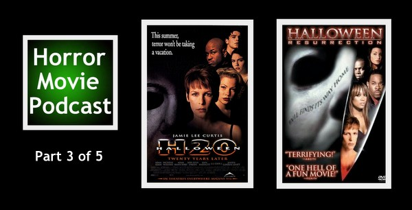 Horror Movie Podcast Ep  029: Halloween H20: 20 Years Later
