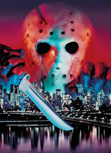 Horror Movie Podcast Friday 13th Part VIII Jason Takes Manhattan Poster