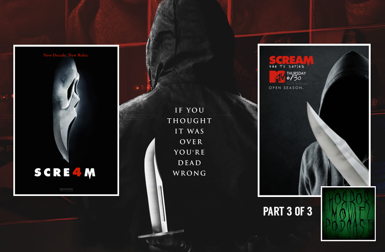 Horror Movie Podcast Ep  067: Scream 4 (2011) and Scream