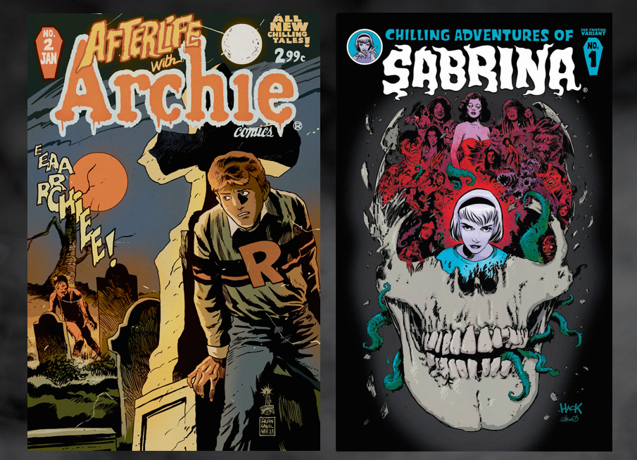 Riverdale Afterlife Archie Chilling Sabrina