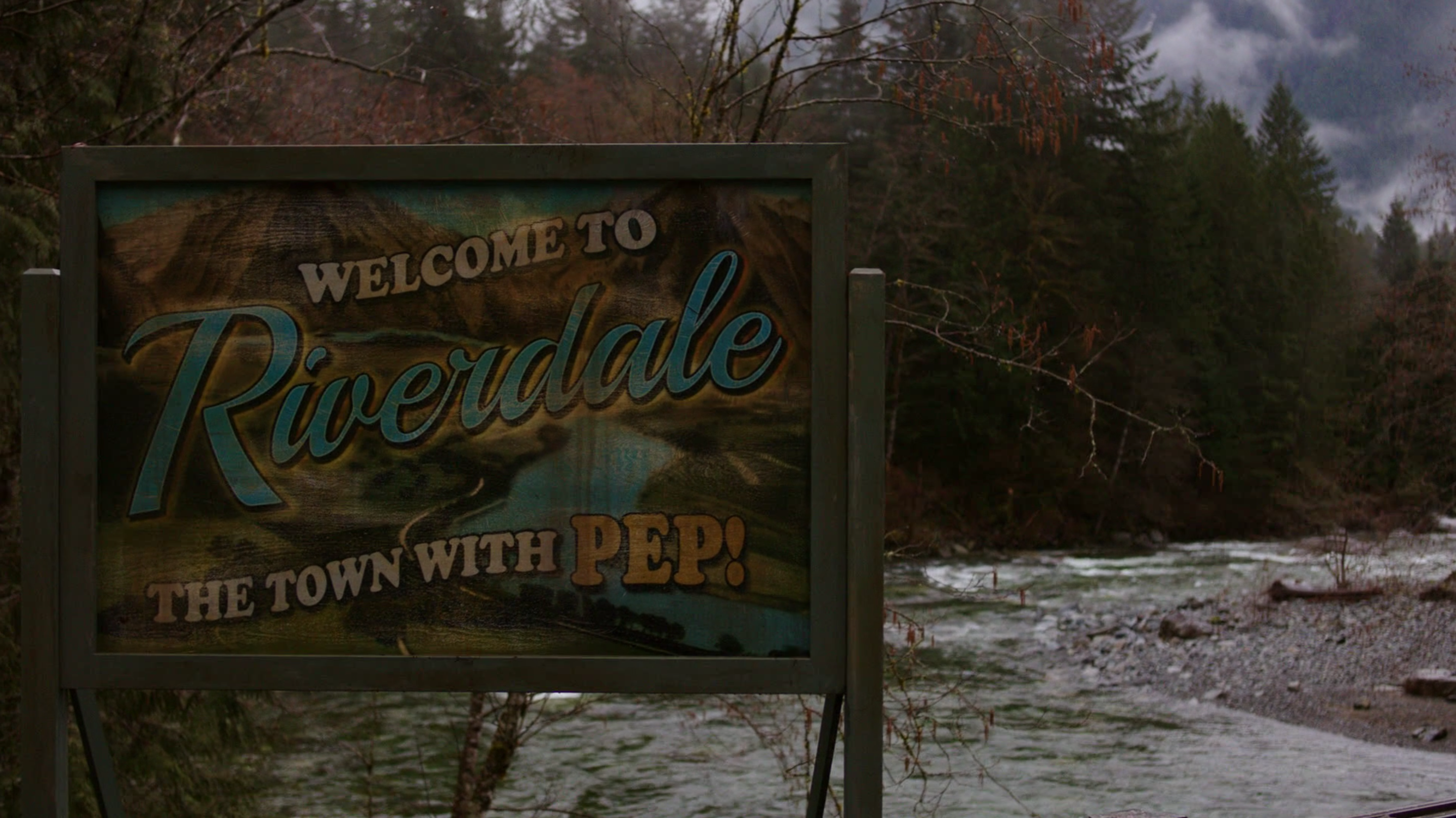 Riverdale Sign