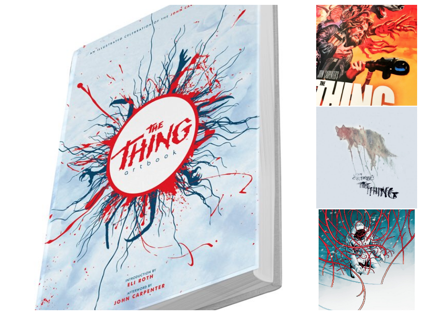 The Thing Artbook Printed in Blood