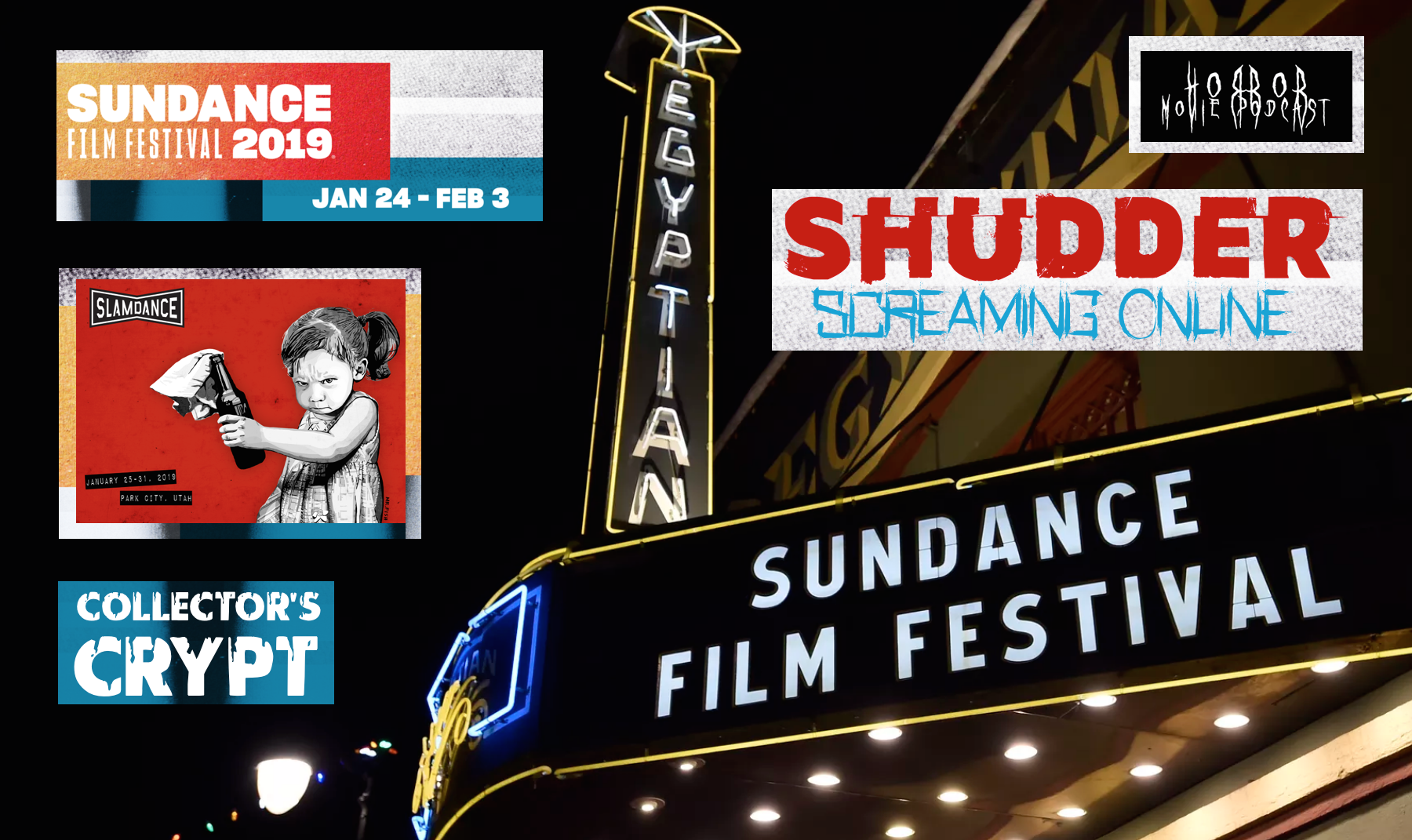 Horror Movie Podcast Ep  167: Sundance Film Festival Horror
